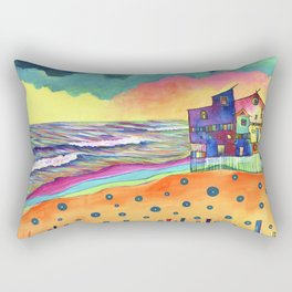 Stormy Turns Rectangular Pillow
