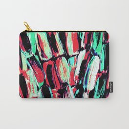 Teal Red Dreams of Sugarcane Carry-All Pouch