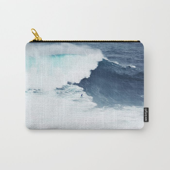 Wave Surfer Indigo Carry-All Pouch