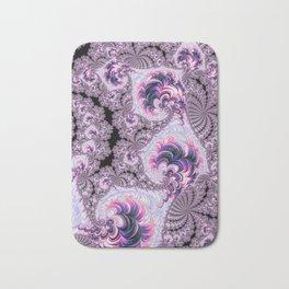 Pink and Purple Fractal Bath Mat