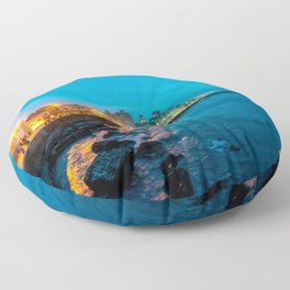 La Vida Nocturna Floor Pillow