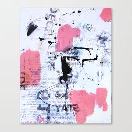 decide pink 3 Canvas Print