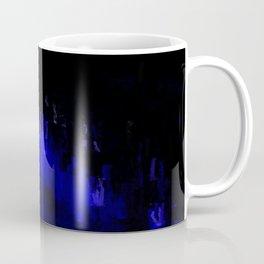 Aqua Stalagmites Coffee Mug