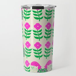 Don't be shy, shy girl, shy, print Travel Mug