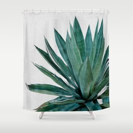 Agave Cactus Shower Curtain