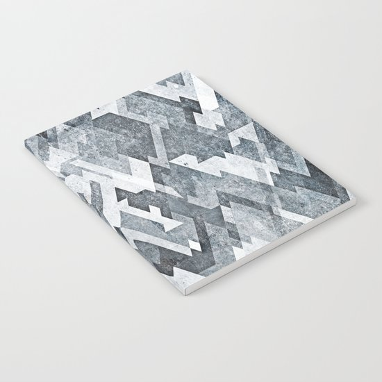zig zag black and white Notebook