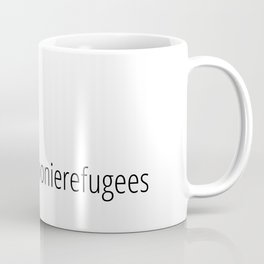 #spoonierefugees logo black Coffee Mug