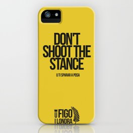 U TI SPARAR A POSA iPhone Case