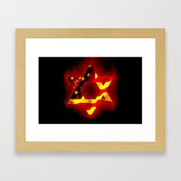 UNITED STATE OF ISREAL 011 Framed Art Print