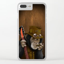 Rockers of the apes Clear iPhone Case