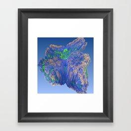Mean Coral Framed Art Print