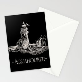 North Sea coastal t-shirt aquaholics gift outfit Stationery Cards