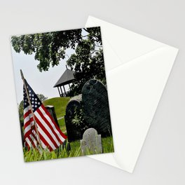 Old Burial Hill, Marblehead, MA Stationery Cards