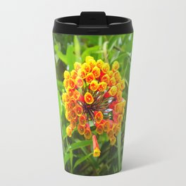 Wake up and plant flowers by #Bizzartino Travel Mug
