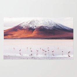 Bolivian Flamingos Rug