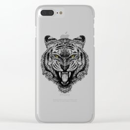 Tigerium (1) Clear iPhone Case