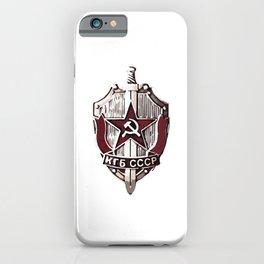 KGB Badge iPhone Case