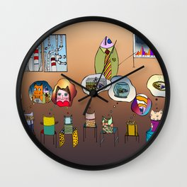 Just another meeting Wall Clock