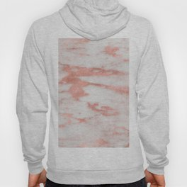 Dolcedo rose gold marble - strawberry tones Hoody