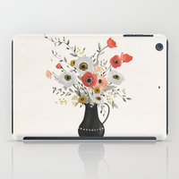 poppies iPad Cases featuring Poppies by Kelli Murray