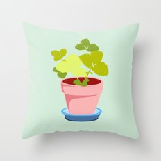 Young Strawberry #2 Throw Pillow