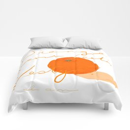 Orange you feeling zesty Comforters