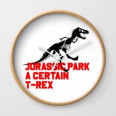 A Certain T-Rex Wall Clock