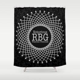 Notorious RBG Shower Curtain