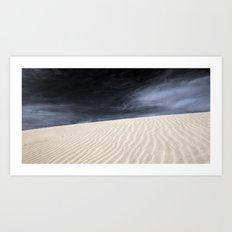 Dunes in Fuerteventura Art Print