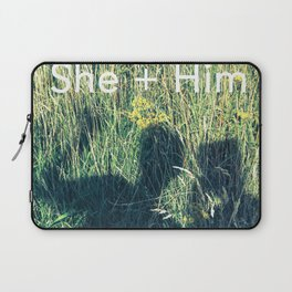 She + Him Laptop Sleeve