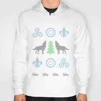 teen wolf Hoodies featuring Teen Wolf Holiday Sweater by maichan