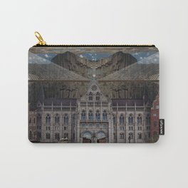 Flat Earth - Seoul, Panama, Budapest, Stockholm Carry-All Pouch