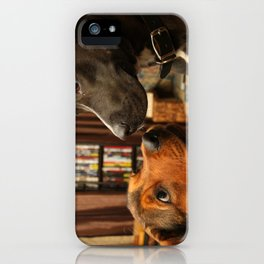Lola and Boogy  iPhone Case