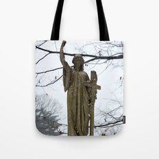M'Lady in the Snow Tote Bag