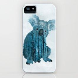 Australian Misty Forest Koala Bear iPhone Case