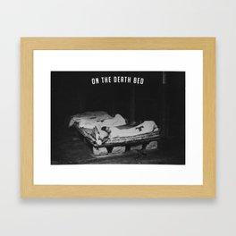 Death Bed Framed Art Print