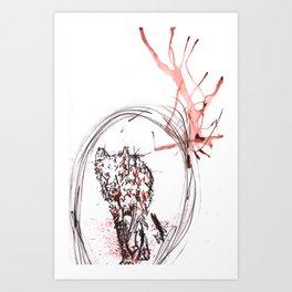 Nature is F*cking Metal 02 Art Print
