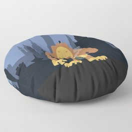 Nagmamahal, Kapre (Philippine Mythological Creatures Series) Floor Pillow