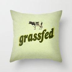 Grassfed Throw Pillow