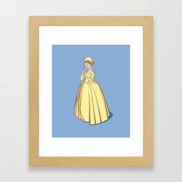 Jane Seymour - third wife of Henri VIII Framed Art Print