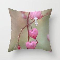 Dicentra Throw Pillow