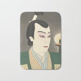 Japanese Ukiyo-e Bath Mat