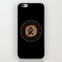 Othala Rune ancestral property, one's homeland or a sense of physical, mental, emotional, spiritual iPhone Skin