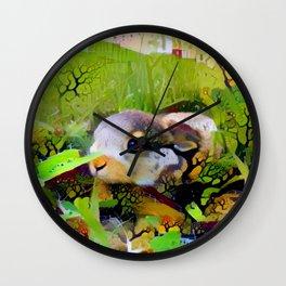 Meadow Babe Wall Clock