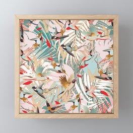 Tropical Mood I. Framed Mini Art Print