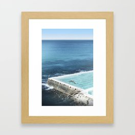Bondi Icebergs 03 Framed Art Print