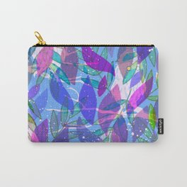 modern leaves pattern Carry-All Pouch