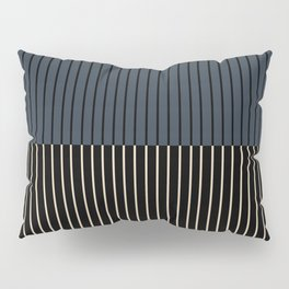 Color Block Lines XVII Pillow Sham