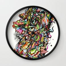 mole01 Wall Clock