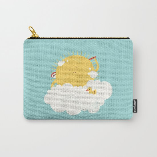 sun-bathing Carry-All Pouch